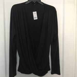Banana Republic Wrap Top